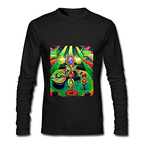 Phish Big Boat Album Tour 2016 Prolonged Sleeve T-Shirts For Men Black