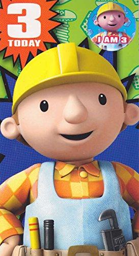 Geburtstagskarte 'Bob der Baumeister', zum 3. Geburtstag