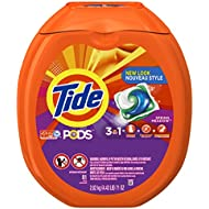 Tide PODS HE Turbo Laundry Detergent Pacs, Spring Meadow...