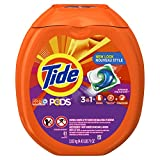 He Laundry Detergent Tide PODS HE Turbo Laundry Detergent Pacs, Spring Meadow Scent, 81 count
