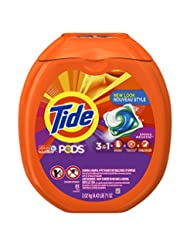 Tide PODS 3 in 1 HE Turbo Laundry Detergent Pacs, Spring Mead...