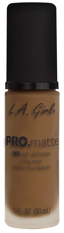 L.A. Girl Pro.matte foundation, Nutmeg GLM683, 1 fl. oz.