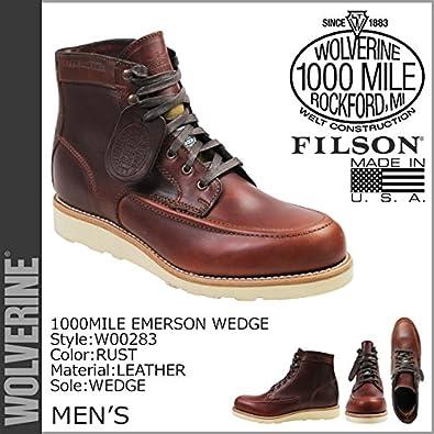 amazon ウルヴァリン wolverine 1000マイル ブーツ 1000 mile emerson