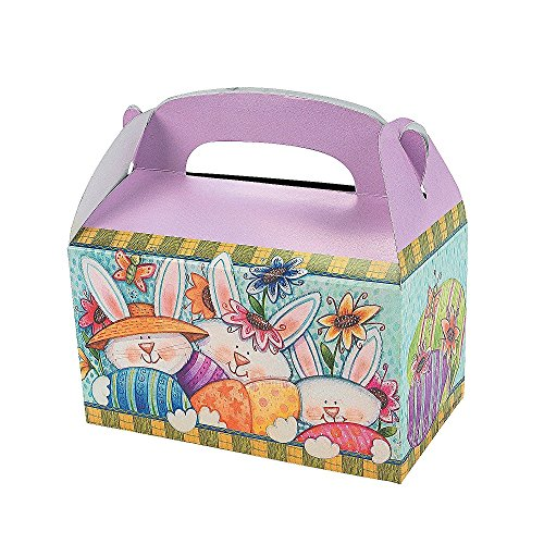 Cardboard Easter Treat Boxes Pack