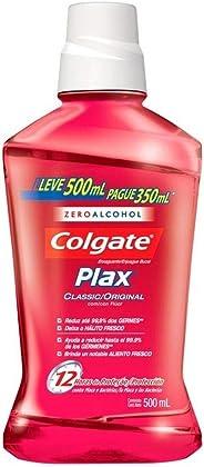 Enxaguante Bucal Colgate Plax Classic 500ml Promo Leve 500ml Pague 350ml