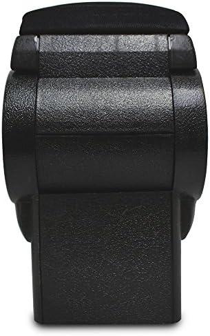 Mittelarmlehne Passgenaue Mittelarmlehne Armauflage Gepolstert Konsole Hochklappbar Armauflage Mit Staufach Gepolstert Textil Schwarz Auto