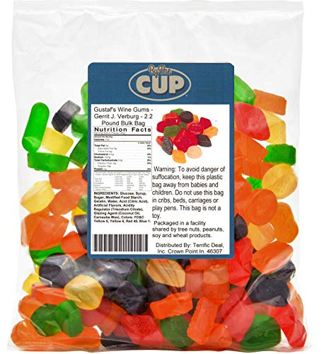 By The Cup - Gustaf's Wine Gums - Gerrit J Verburg - 2.2 Pound Bulk Bag ()