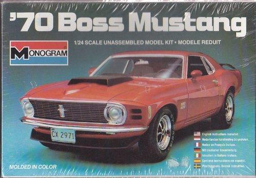Monogram 1/24 '70 Boss Mustang