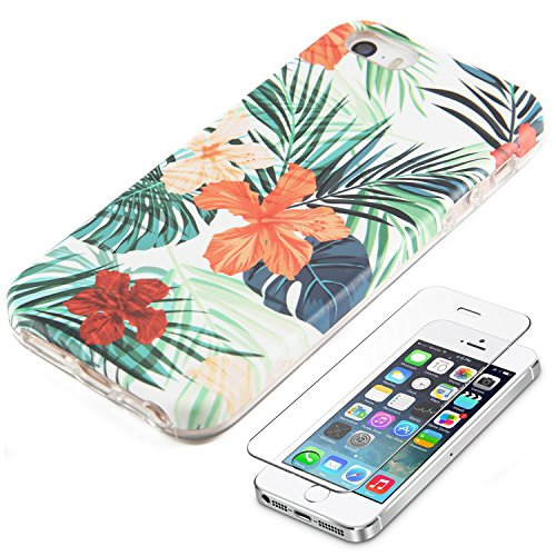 Spring Floral Protective Tempered Protector