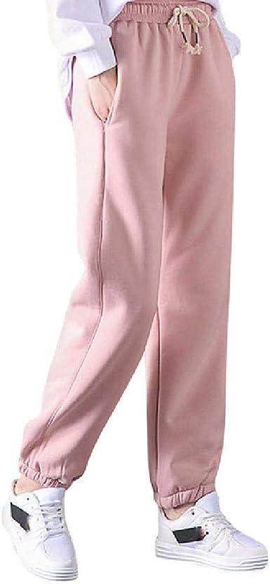 Pantalones de Mujer de Cachemira de Piel de Cordero Gruesa ...