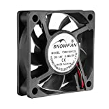 60 x 60 cooling fan - uxcell 60mm x 15mm 12V DC Cooling Fan for Computer Cases, Long Life Sleeve Bearing
