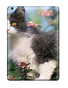 Charles C Lee Scratch-free Phone Case For Ipad Air- Retail Packaging - Cat On A Fence