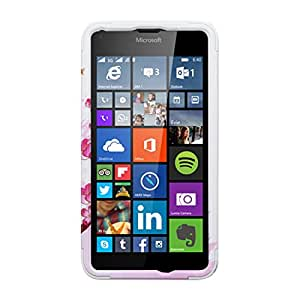 MyBat Phone Case for MICROSOFT Lumia 640 - Retail Packaging - Solid White