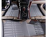 Fly5D Car Floor Mats Front & Rear Carpet Mat Waterproof For Kia Forte 2009-2017 (Kia Forte 2009-2017, Gray)