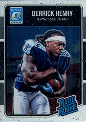 2016 Donruss Optic #165 Derrick Henry Tennessee Titans Rookie Football Card