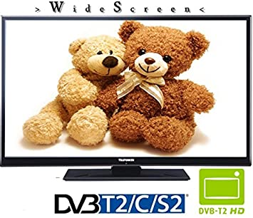 Telefunken l28h275 X 4 LED TV Televisor 28 Pulgadas 72 cm DVB-S2/C/T2, USB, HDMI, Ci + 230 V: Amazon.es: Electrónica