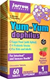 Yum-Yum Dophilus, 1 Billion Organisms Per 2 Chewables, Intestinal and Immunal Support for Children, 60 Count (Cool Ship, Pack of 3)