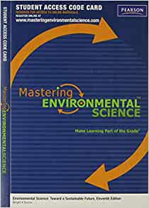 Environmental Science Toward A Sustainable Future 11th Edition Notes