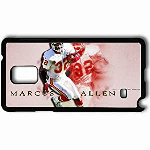 Personalized Samsung Note 4 Cell phone Case/Cover Skin 735 kansas chiefs Black