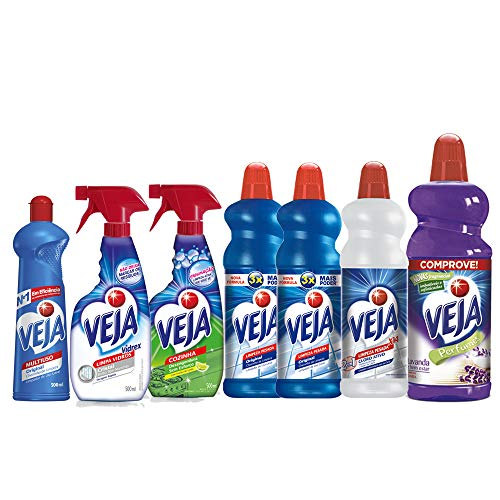 Kit VEJA Limpeza Completa