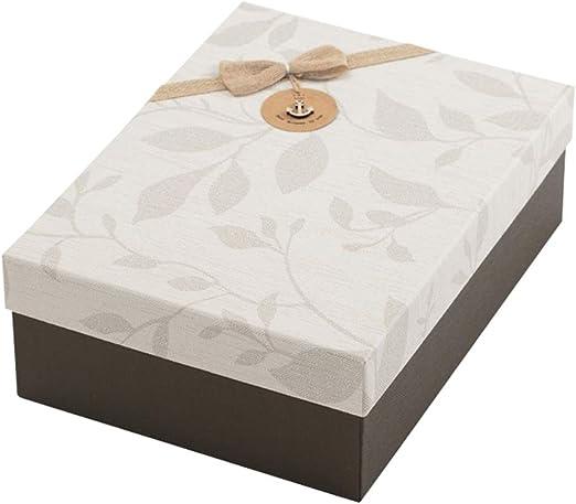 WXiaJ-Gift box Caja de Regalo Grande Rectangular de Tela para ...