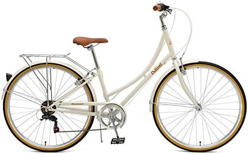 Retrospec Beaumont-7 - Bicicleta Urbana de 7 velocidades para Mujer: Amazon.es: Deportes y aire libre