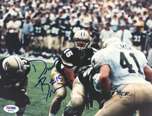 Drew Brees Signed 8x10 Photograph Purdue - Certified Genuine Autograph By PSA/DNA - Autographed Photo (Signed Photograph Brees)