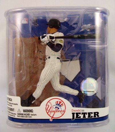 MLB Baseball Action Figures Series 22: Derek Jeter 4 Clean P