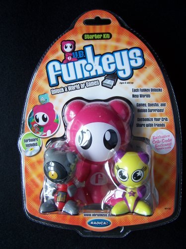 Funkeys Starter Kit - U.B. Funkeys Starter Kit with Scratch & Twinx - Pink Exclusive