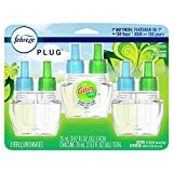 Plug in Air Freshener and Odor Eliminator, Scented Oil Refill, Gain Original Scent, 3 Count, Limited Edition