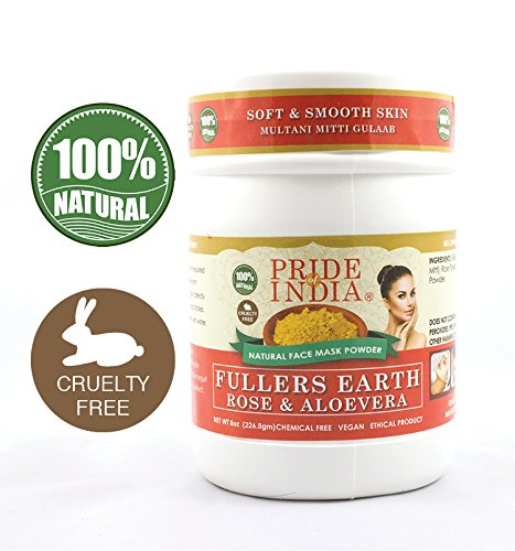Pride Of India - Fuller's Earth Deep Cleansing Indian Clay H