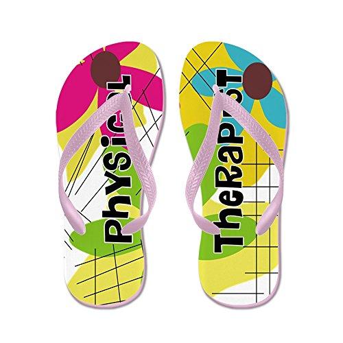 Cafepress Fysiotherapeut 1 - Flip Flops, Grappige String Sandalen, Strand Sandalen Roze
