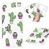 Galaxy S10 Case, Badalink Samsung S10 Case Protective Soft Cover Cute Painting Shock Absorption Technology Bumper Slim Shell Anti-Scratch Skin Cute Case for Samsung Galaxy S10 (Cactus)