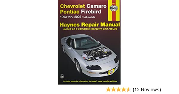 Amazon haynes repair manual for camarofirebird number 24017 amazon haynes repair manual for camarofirebird number 24017 0038345240171 books fandeluxe Image collections
