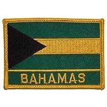 "Bahamas Flag Patch 2 1/2"" x 3 1/2"""