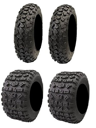Full set of STI Tech 4 MX 20x6-10 and 18x10-8 ATV Tires (4) by Powersports Bundle (Image #2)