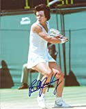Autographed Billie Jean King 8x10 Photo.