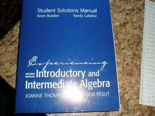 Introductory Algebra: Third Custom Edition for Palm Beach Community College, MAT 0020 Basic Algebra 2