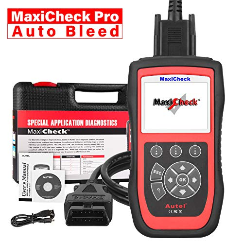 Autel MaxiCheck Pro OBD2 Scanner Automotive Diagnostic Scan Tool with ABS Auto Bleed, SRS Airbag, Oil Reset, SAS, EPB, BMS for Specific Vehicles 1996 to 2012 (The Best Automotive Scanner)