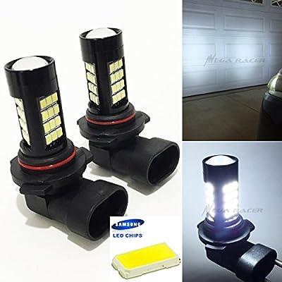 9005-HB3 (High Beam Headlight) Super Bright White 6000K Bright-Chip 42-LED Lamp Xenon Light Bulb Replace Stock OEM US