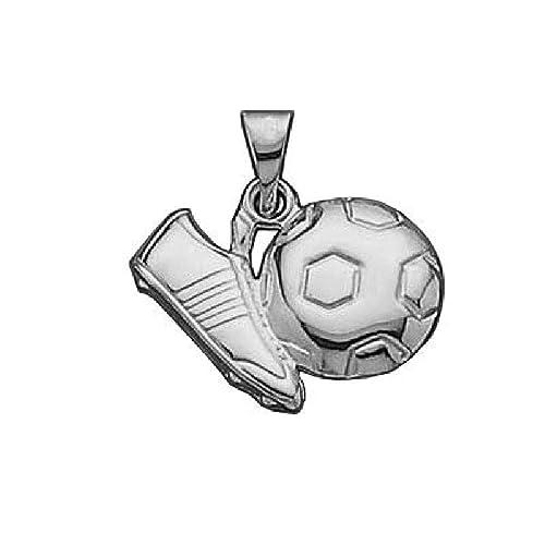 So Chic Joyas - Colgante Futbol Balón Botines Plata 925: Amazon.es: Joyería