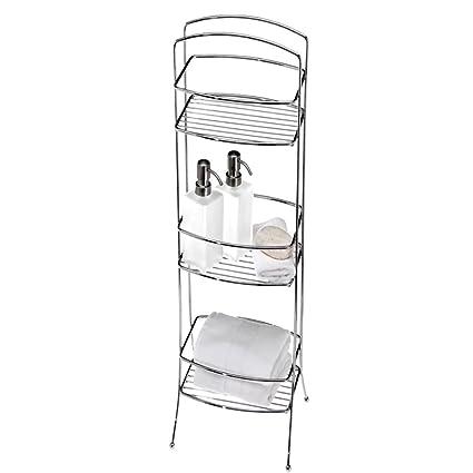 online store afce1 8a68b Amazon.com: Narrow Bathroom Storage Tower, Contemporary ...