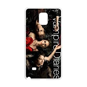 The Vampire Diaries Samsung Galaxy Note 4 Cell Phone Case White yyfD-396821