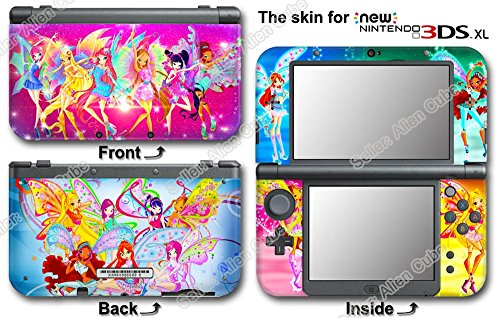 (Winx Club Amazing Cute Vinyl Skin Sticker Decal Cover #1 for NEW Nintendo 3DS XL)