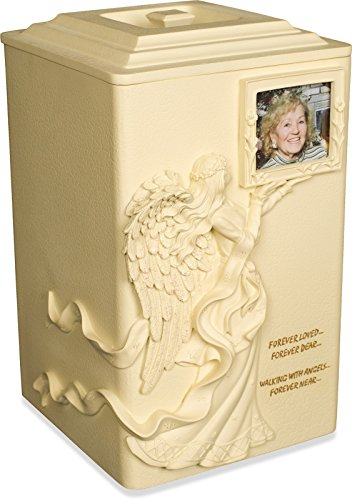 - AngelStar Angels Near Urn, 11-Inch, 245 Cubic Inch, Includes Frame for Photo