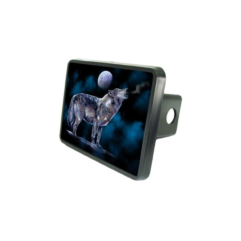 Full Moon Wolf Custom Hitch Plug for 2 receiver from Redeye Laserworks