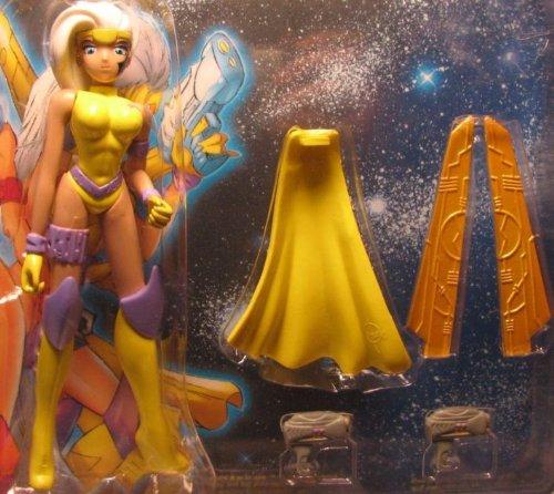 Skybolt 1999 Nira X Manga Force 6 inch figure yellow