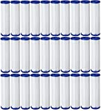 Pentek R50 50 Micron Standard 10 x 2.5 Pleated Sediment Water Filter 20 Pack