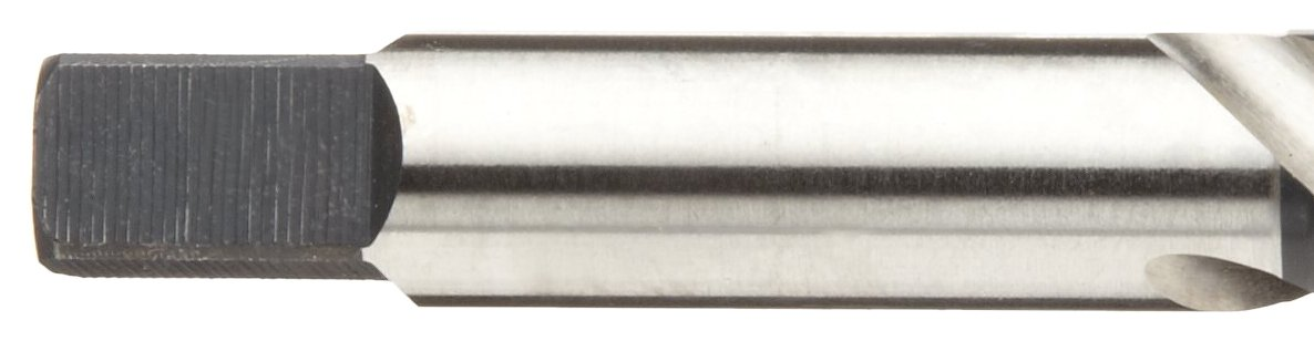 Bright M High-Helix Round Shank with Square End M8-1.25 Thread Size Precision Dormer 1012948 Finish Bottoming Chamfer Uncoated Union Butterfield 1788 High-Speed Steel Spiral Flute Tap