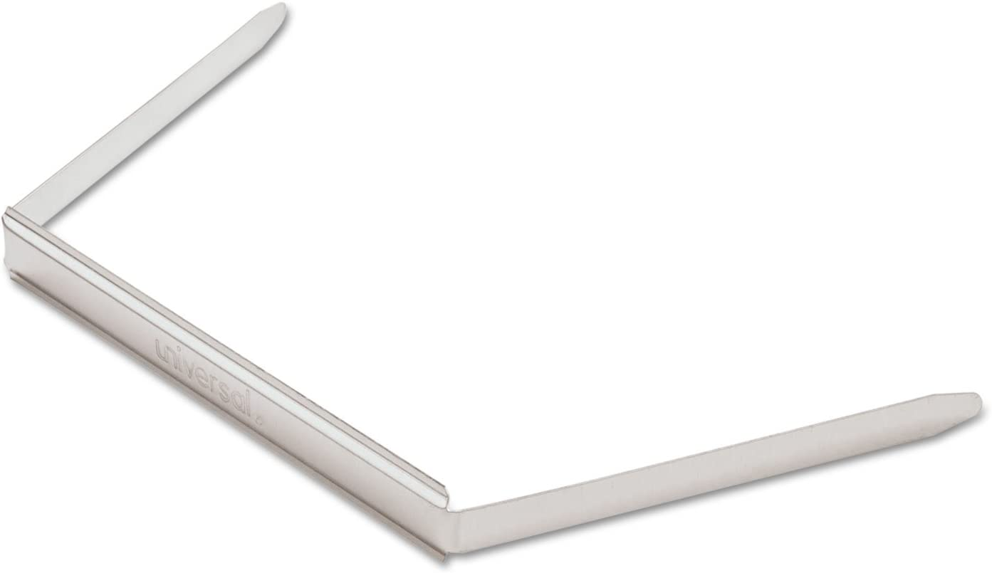 Box of 100 Two Inch Capacity Universal 81012 Prong Base for Paper File Fasteners